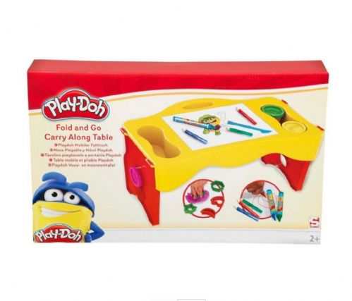 Hasbro Kids Children Play-Doh Fold & Go Carry Along Table Summer Outdoor Playset